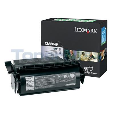 LEXMARK OPTRA T610 RP PRINT CART LABEL APPS 25K